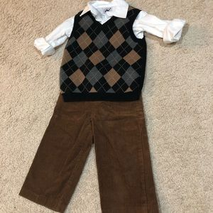 Goodlad 3 piece boys vest set - 24 months